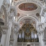 Organ pipes, St. Stephen's Cathedral, Passau, Germany July 2013