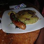 Hungarian sausage, surprisingly good