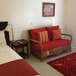 Main bedroom in 2bdrm villa