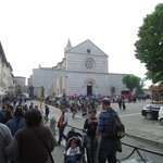 Busy, just prior to canonization!