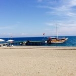 The sea, huge beach perfect!