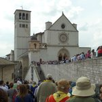 Assisi a day before the canonization!