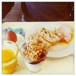 My boyfriends breakfast