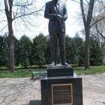 Statue of President Reagan