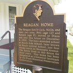 Sign outside the home