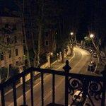 View down Via Dandalo