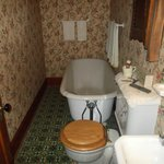 The actual tub used by the Reagan family