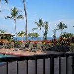 Pool area from Aloha Fridays