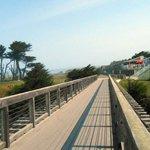 From Pudding Creek bridge on beach walk.