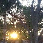 LOVELY SUN SET