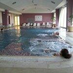 Verwarmd relax zwembad