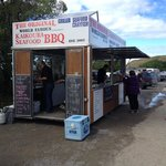 Kaikoura Seafood Kiosk - right on the road