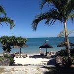 La plage de l'hôtel , la Playa de el otel, the beach of hotel