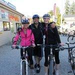 We hire mountain bikes!