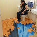 The amazing toilet!