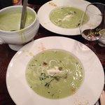 Soup served.