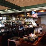 Hideaway bar area!