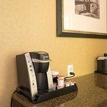 備え付けのコーヒーメーカー