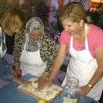 Making bread the traditional Jordanian style