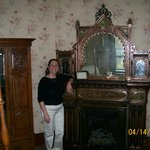 Fireplace- Bronze room