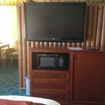 HUGE flat screen for adults in room 112