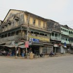 Old buildinggs in Mawlamyine.