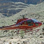 Helicopter used to/from boat on Colorado