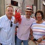 the Italian local who told us where to find Antica Capri Pizzareia