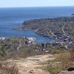 View of the bay from Battie mountain