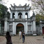 Entrance to The Temple of Literature, Hanoi