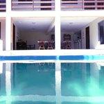 Vista restaurante piscina