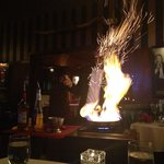 Bananas Foster Made Table Side