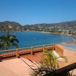 Zihuatanejo from the room balcony