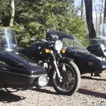 We offer two BMW sidecar rigs to accommodate up to four passengers.