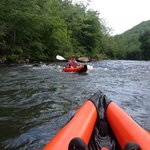 Great day on the Tuckaseegee!