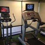 Nice fitness room.