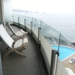 Sheraton Miramar balcony