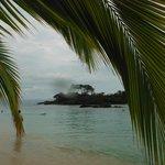 Vue de l'une des 3 plages