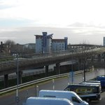 View of the hotel Prince Regent DLR Station