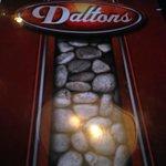 Menu cover, Dalton's     1715 Wellington Ave. (Greenwood Inn), Winnipeg, Manitoba, Canada