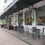 Sidewalk Cafe in Hotel