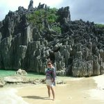 Beautiful rock formation in Caramoan