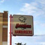 The Kewpee's sign