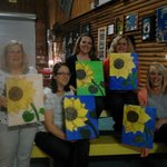 Dinner and Canvas at the Silver Door