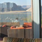 pool view from lake powell resort