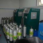 Dive Centre Nitrox Membrane system
