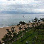 Our View from the 9th floor, Molokai tower.