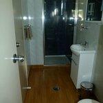 Ensuite bathroom with 2 door entries
