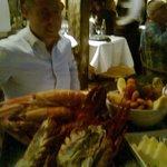 Tantalizing seafood platter