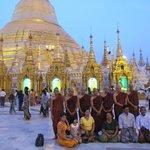 Shwedagon Pagoda Near Sunset...So Good!